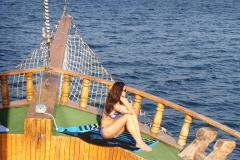 В открытое Чёрное море на шхуне